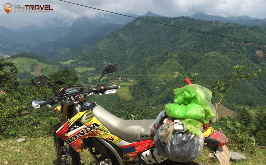Vietnam Motorcycle Trip from Hanoi to Mai Chau - 3 days