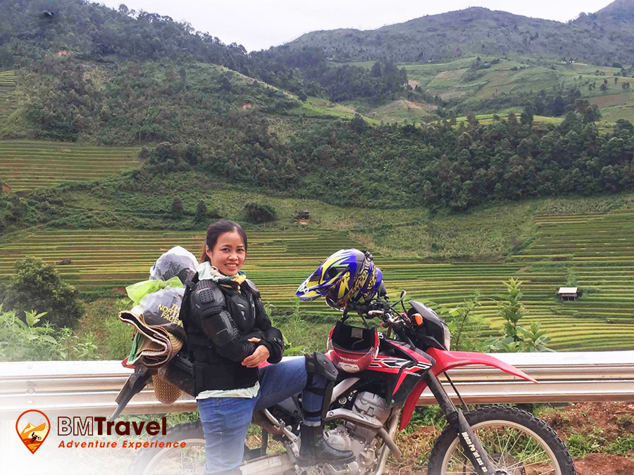 Northwest Vietnam Motorbike Tours via Northern loop trail - 6 days and some Sapa motorbike tours