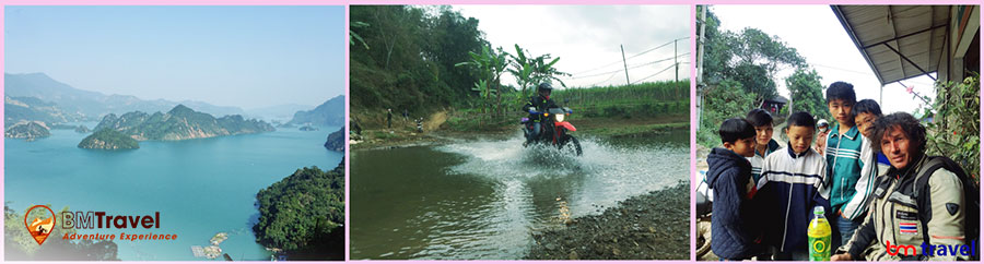 Off- Road Vietnam Motorbike tours in Northwest - 4 days come back to Ha noi