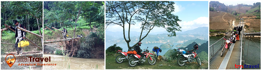 Short Motorbike tours in North Vietnam - 3 days