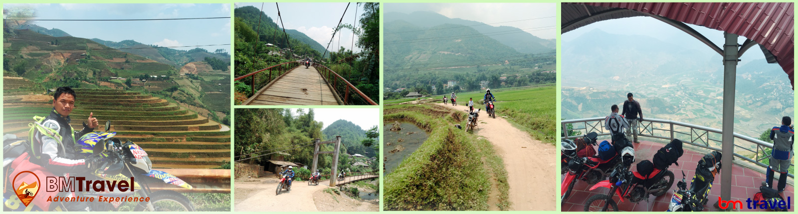 Vietnam motorbike tours via northern loop trail -10 days. Day 2