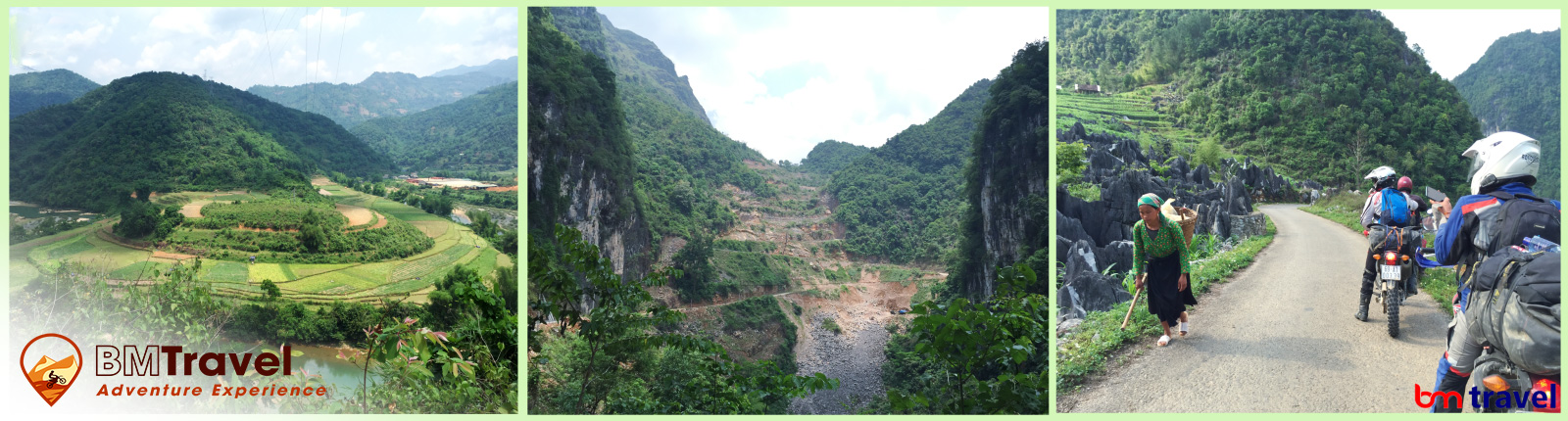 Vietnam motorbike tours via northern loop trail 10 days, day 6