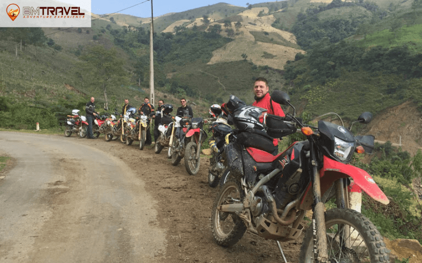 Magnificent off-road tracks on Ho Chi Minh Trail