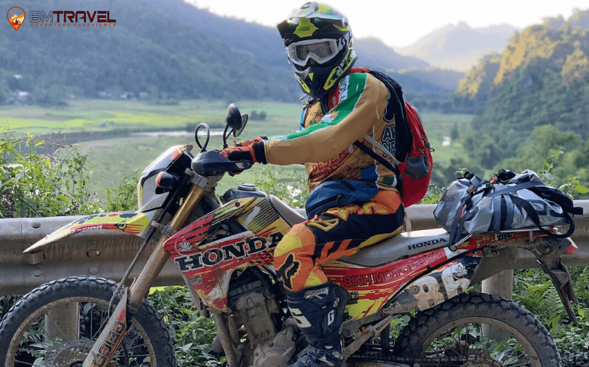 Honda CRF250L - best choice for conquering Vietnam's terrain