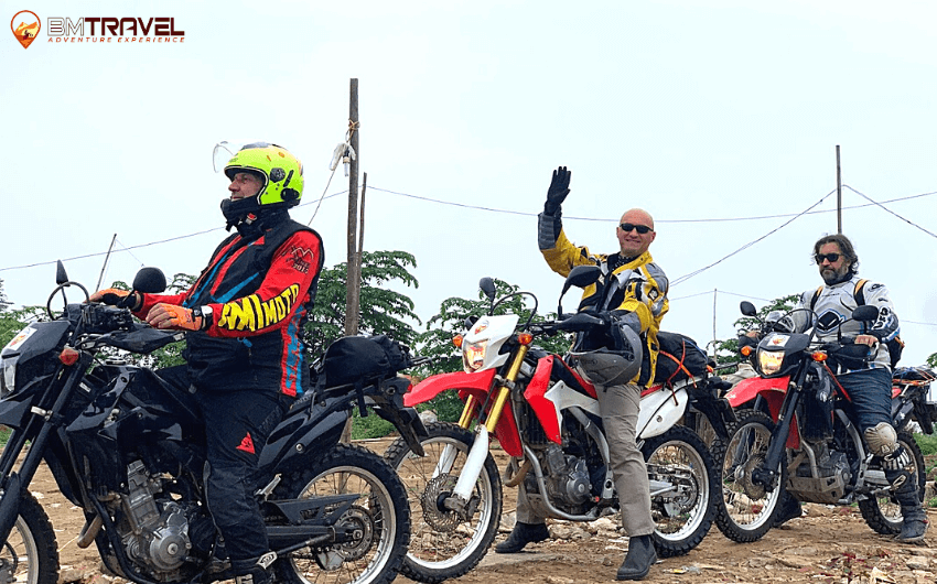 lightweight adventure motorcycles - a perfect choice for off-roading in Vietnam