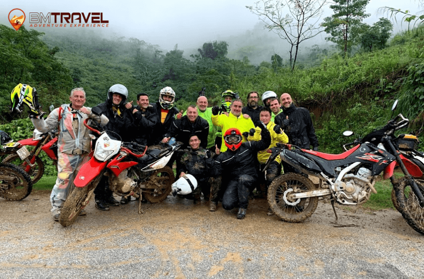 Vietnam motorcycle tours to finding out natural beauty of Ha Giang - 8 days Hanoi - Vu Linh
