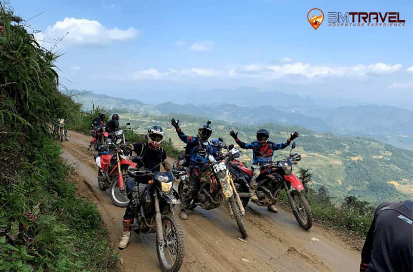 Vietnam motorcycle tours to finding out natural beauty of Ha Giang - 8 days Vu Linh - Ha Giang motorbike tours