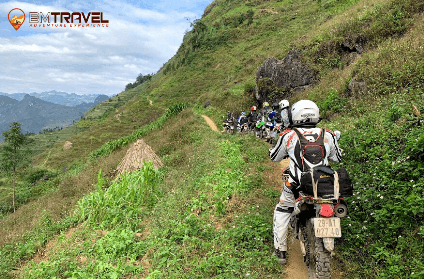Adventure northeast Vietnam Motorbike Tour- 7 days visit Ba Be lake and national park