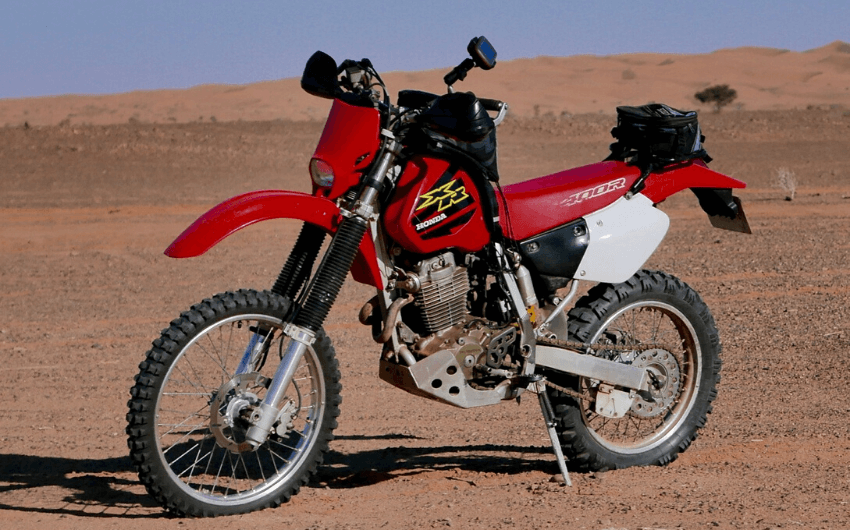 XR400 ADVENTURE BIKE