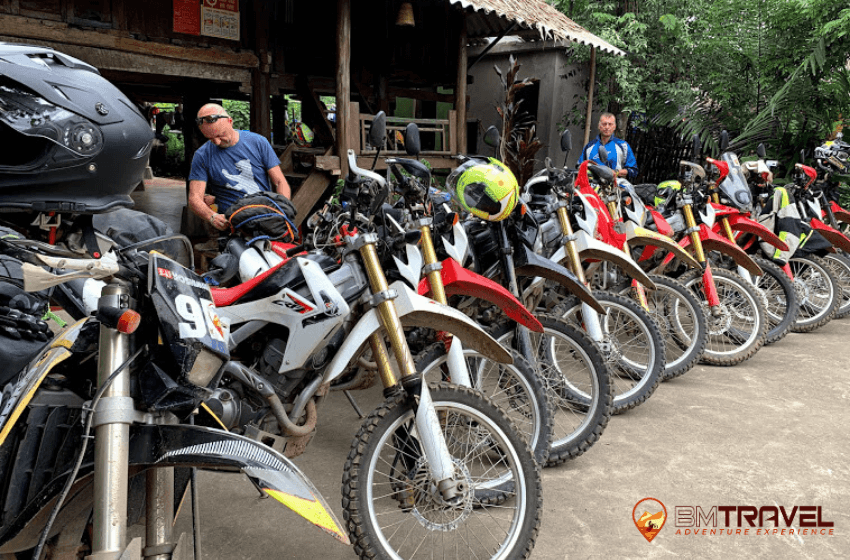 Vietnam motorbike tours to Vu Linh