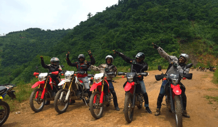 Off-road Vietnam Dirt Bike Tour from Hanoi to Thac Ba Lake - 4 days