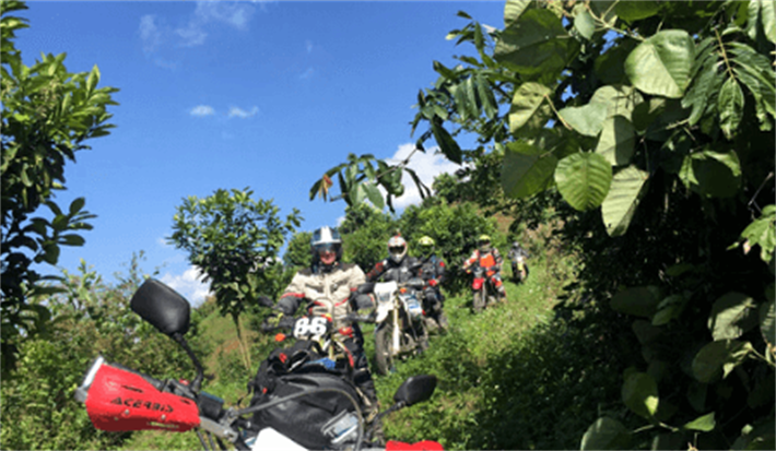 Vietnam Motorbike Tours with 8 day 7 night Pristine and Romantic North-West Vietnam Off-road exploration tour