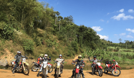 Northwest Vietnam Motorbike Tour from Hanoi to Vu Linh - 5 days