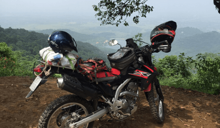 Vietnam Motorcycle Trip from Hanoi to Ba Vi National Park - 1 Day