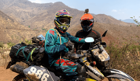Off-road Vietnam Dirt Bike Tour from Hanoi to Vu Linh via Son La - 7 Days