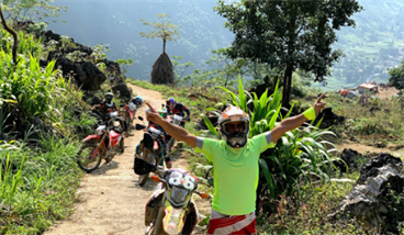Adventure Motorcycle Tour In Northeast Vietnam from Hanoi to Ba Be - 8 days