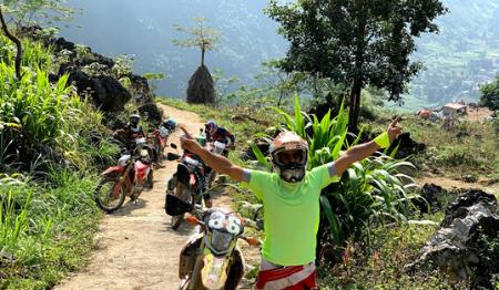 Northeast Vietnam Motorbike Tour from Hanoi to Ba Be - 8 days