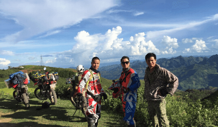 Off-road Vietnam Dirt Bike Tour from Hanoi to Vu Linh - 6 days