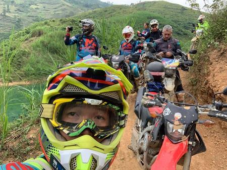 Vietnam Laos Border Crossing Motorbike Tour from Hanoi to Vientiane - 15 days
