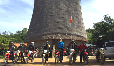 Off-road Central Vietnam Motorcycle Tour from Hoi An to Nha Trang - 6 days
