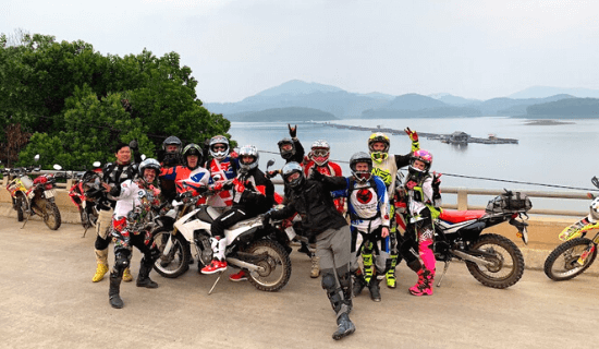 Vietnam Motorcycle Trips Near Hanoi City