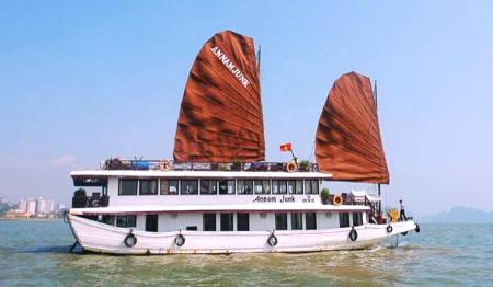 Annam Junk Cruises 2 days 1 night