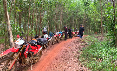 South Vietnam Motorcycle Tour from Saigon to Nam Cat Tien