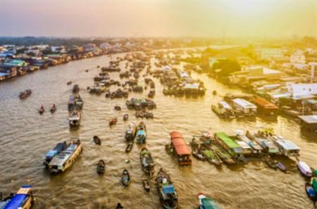 South Vietnam Motorcycle Tour from Saigon to Chau Doc