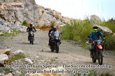 Top Gear Vietnam Special – The Success of motoring program but failed of traveling