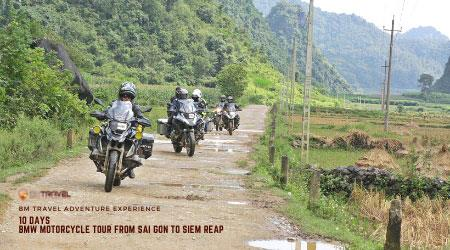 BMW Motorcycle Tours From Sai Gon to Siem Reap - 10 Days